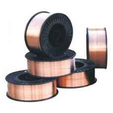 Дріт SG2 покритий міддю на пласт.касетах по 5кг,діам. 1,0 мм