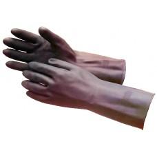 Перчатки каучук  BLACK HEAVYWEIGHT G17K