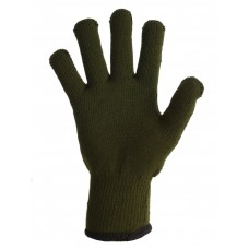 Перчатки рабочие зеленые/черные артикул 6205, короткий манжет
