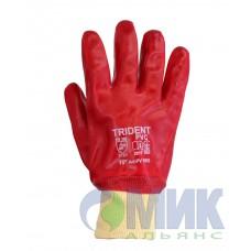 Перчатки c обливом ПВХ, Trident PV 5003