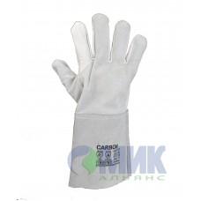 Перчатки спилковые Trident Carbon, артикул 8610